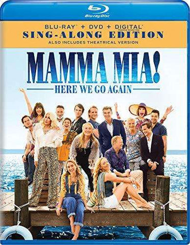 Mamma Mia! Here We Go Again - New Blu-ray + DVD,The CD Exchange