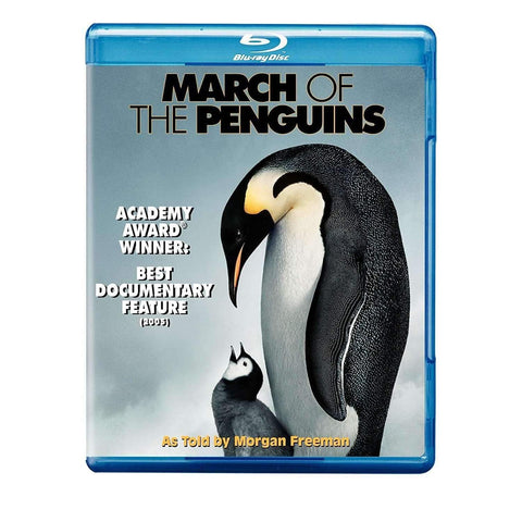 March of the Penguins | Blu-ray,Blu-ray,The CD Exchange