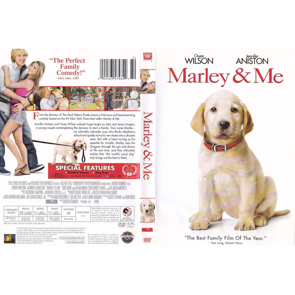 DVD - Marley and Me - The CD Exchange