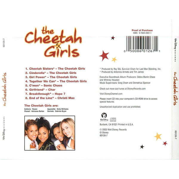 Movie Soundtrack - The Cheetah Girls - Used CD
