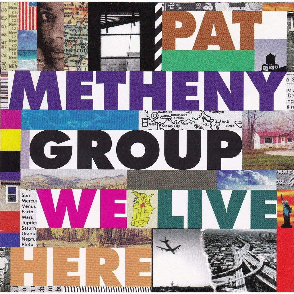 Pat Metheny Group ‎– We Live Here - Used CD,The CD Exchange