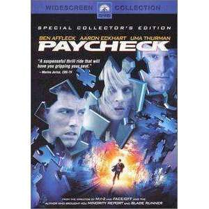 DVD - Paycheck (Widescreen) - Used,,The CD Exchange