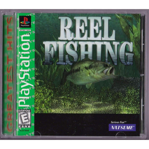 Playstation Video Game | Reel Fishing Greatest Hits | Complete - Used,The CD Exchange
