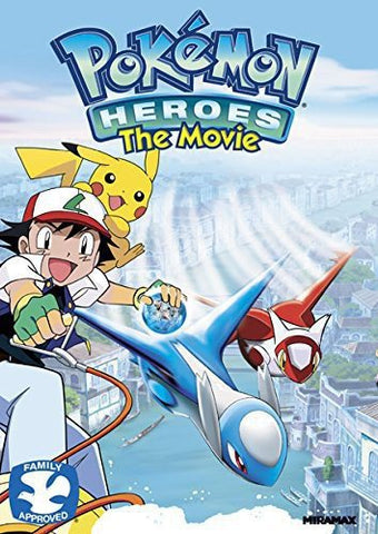DVD - Pokemon Heroes The Movie - The CD Exchange