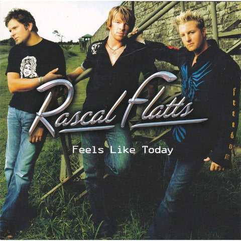 Rascal Flatts - Feels Like Today - CD,The CD Exchange