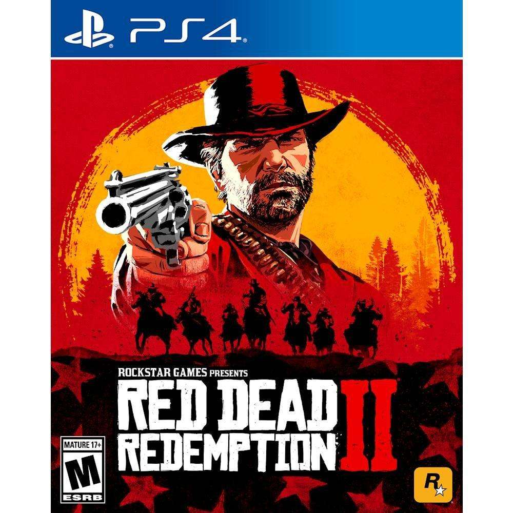 Red Dead Redemption 2 - PlayStation 4 - Video Game - The CD Exchange