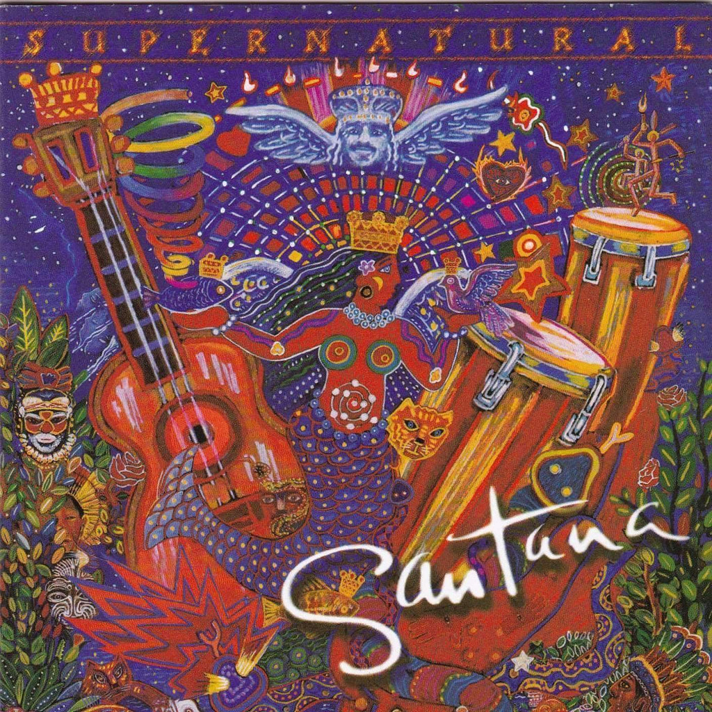 Santana - Supernatural - Music CD - The CD Exchange