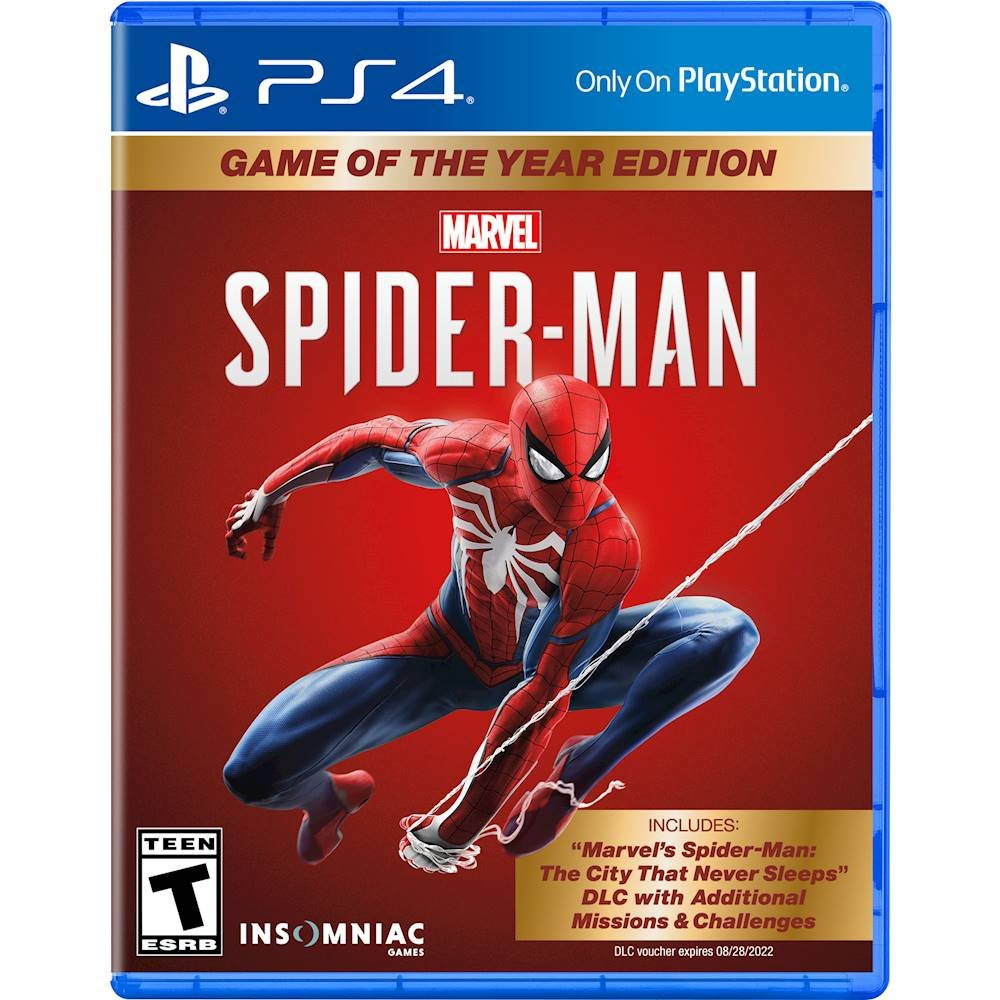 Marvel's Spider-Man Game of the Year Edition - PlayStation 4 - The CD Exchange