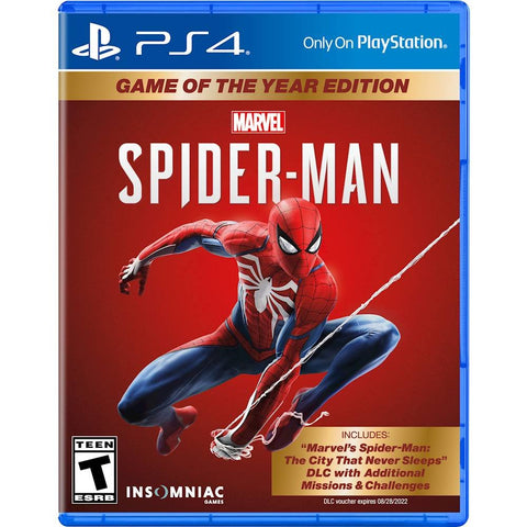 Marvel's Spider-Man Game of the Year Edition - PlayStation 4,The CD Exchange