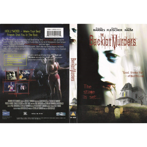 The Backlot Murders - Used DVD,The CD Exchange