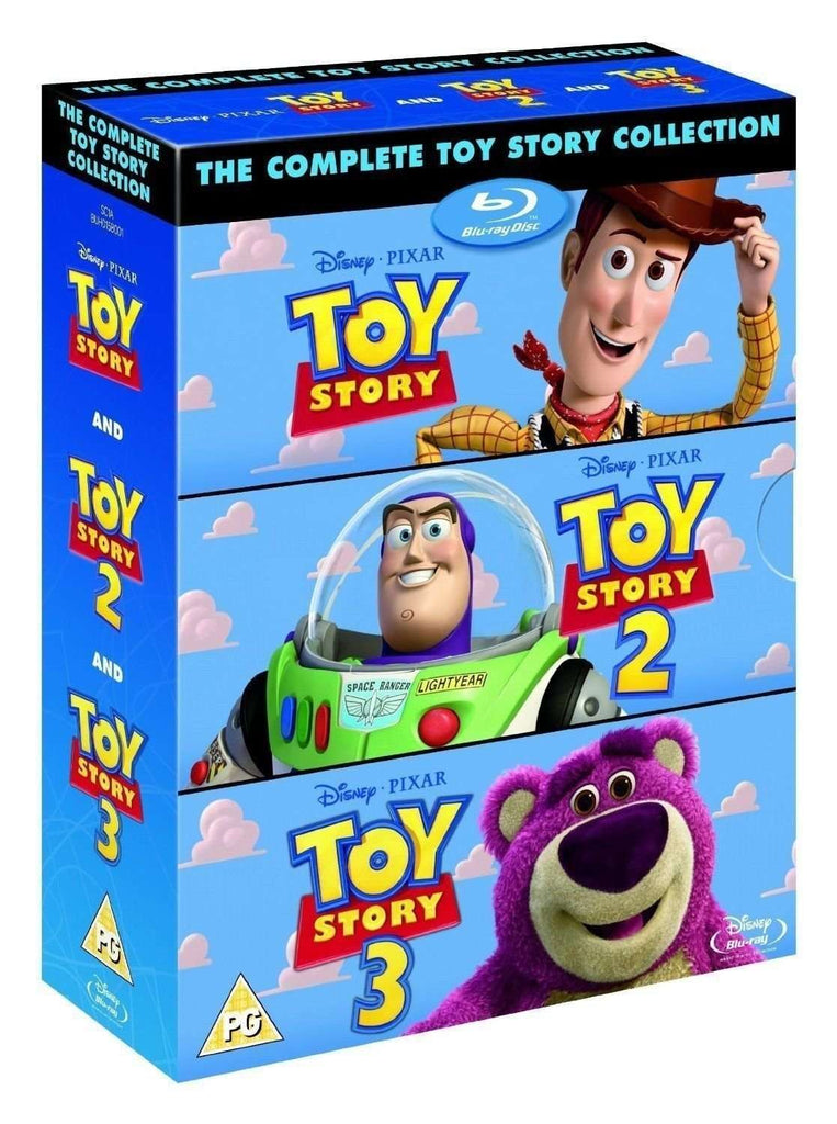 The Complete Toy Story Collection 1, 2, 3 - Blu-ray Box Set,The CD Exchange