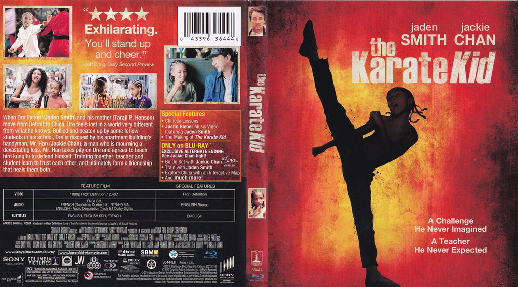 The Karate Kid - Blu-ray Movie,The CD Exchange
