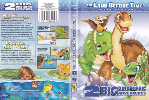 The Land Before Time Big Freeze/Journey To Big Water - Used DVD,The CD Exchange