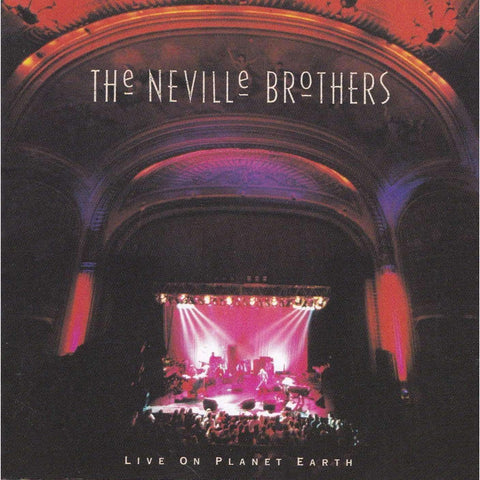 The Neville Brothers | Live on Planet Earth | Used Music CD,The CD Exchange