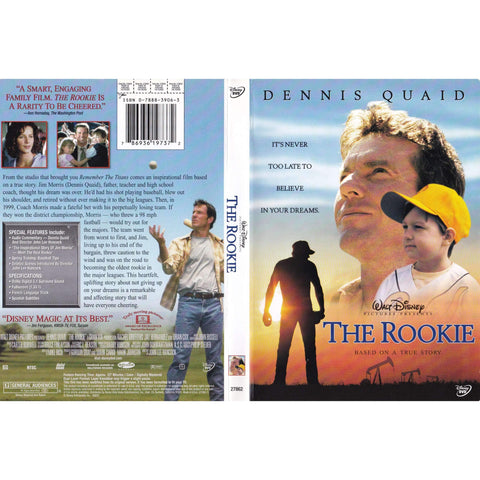 The Rookie - Used DVD,The CD Exchange