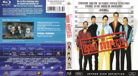 The Usual Suspects - Blu-ray Movie,The CD Exchange