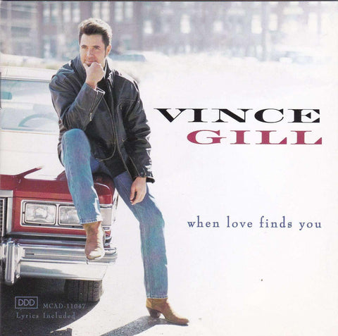 Vince Gill - When Love Finds You - CD - The CD Exchange
