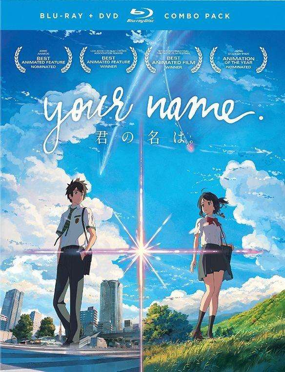 Your Name (Blu-ray + DVD) - The CD Exchange