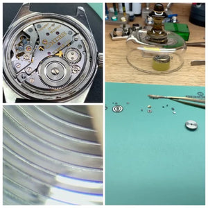 Servicing inspection of a King Seiko with caliber High Beat 4520a