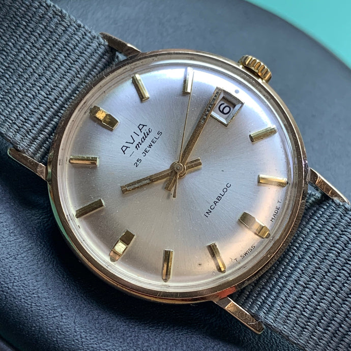 The importance of sentimental watches (Avia-matic ETA 2471 ~ 1965)