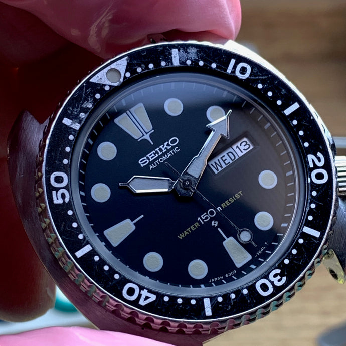 How to avoid turning a vintage watch into a metal grinder - Servicing a seiko 6039-7049 Turtle