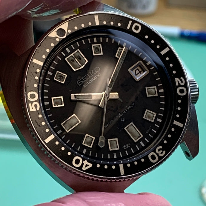 Servicing a raw and gritty Seiko 6105-8000 vintage diver