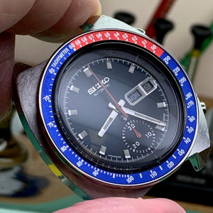 Servicing a Seiko Pogue 6139-6005 with a few curveballs