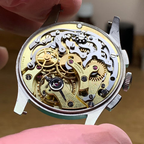 Universal Geneve Chronograph Servicing