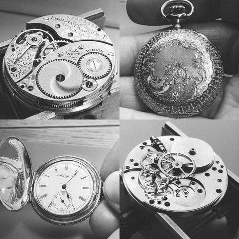 Elgin 0 Size Ladies Pocket Watch 1903