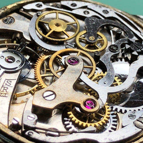 Serving the Hahn Landeron Chronograph One Button 15 1/2 ligne