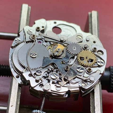 Seiko Kakume 6138-0030 chronograph servicing