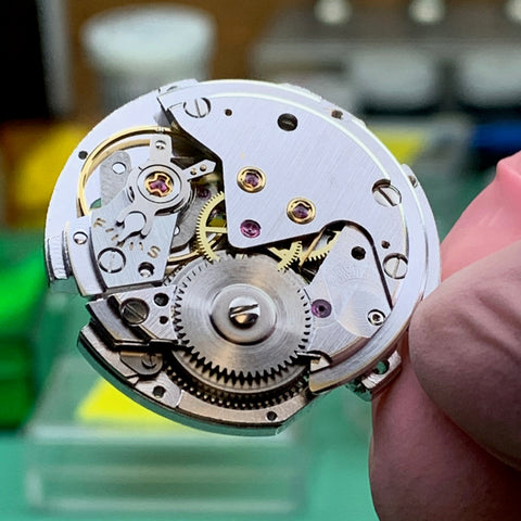 Servicing a Seiko Seikomatic Weekdater 35 Jewel 6218-8970 from 1964 family watch
