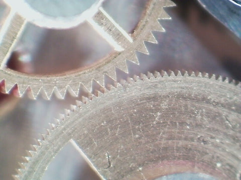 ClockSavant - critical meshing of vintage chronograph wheels
