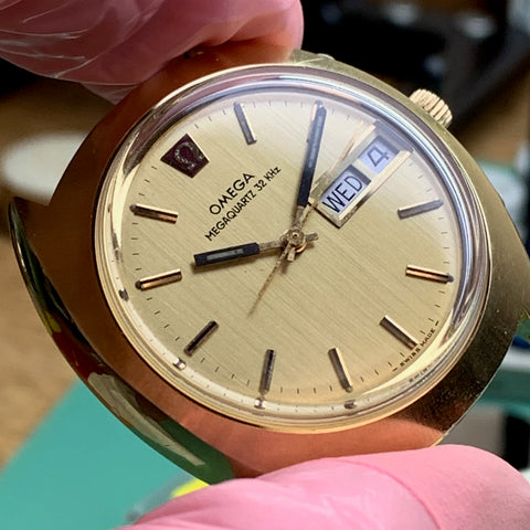 Quality and servicing of quartz watches and the Omega Megaquartz 1310