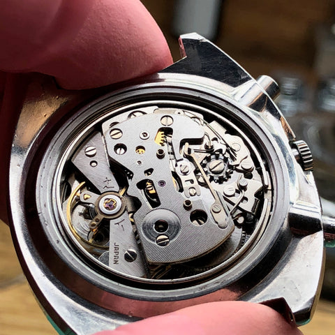 Servicing a Seiko 6139-6005 Pogue Chronograph