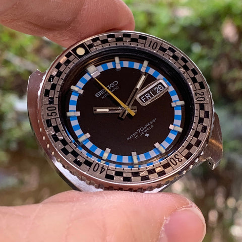 Servicing a Seiko Rally 6106-8227 with sentimental value and its own story