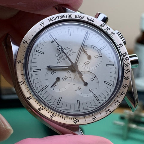 Servicing an Omega Speedmaster Professional Calibre 1861