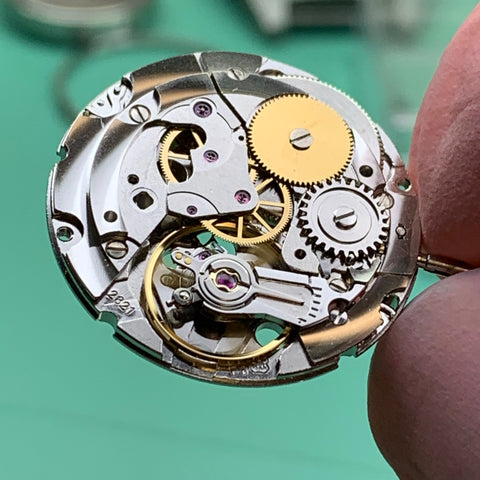 Servicing a 1970's Benrus Type I Class A military watch family watch