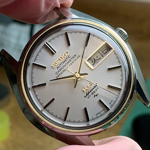 Servicing a King Seiko 5246-6010 from 1971