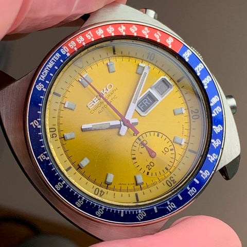 Truth and Transparency - Servicing a Seiko Pogue 6139-6002 vintage chronograph