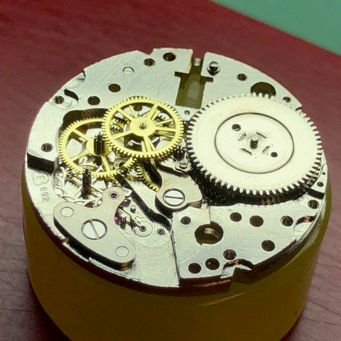 Vintage Glycine Airman ClockSavant Servicing - Hack Stop, 24 hour watch