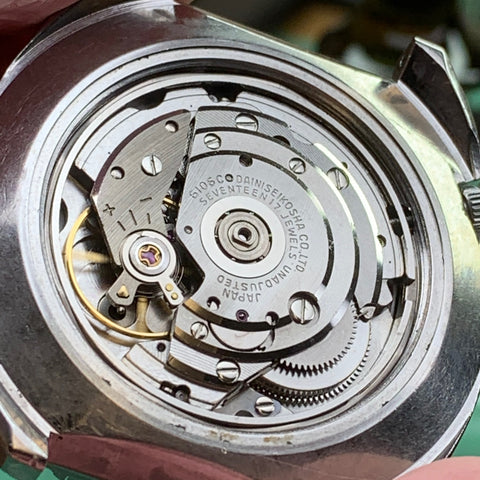Servicing a Seiko Rally 6106-7117
