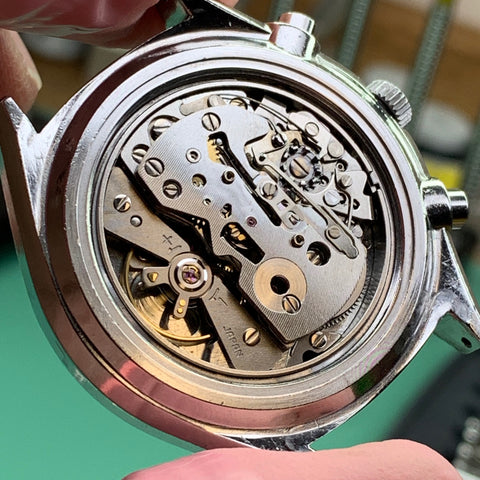Servicing a family Seiko 6138-8020 vintage chronograph