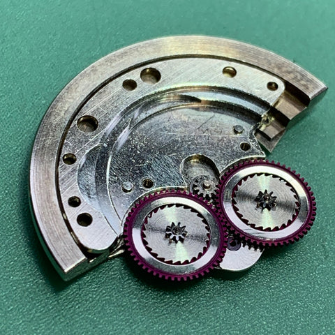 Servicing a Rolex 1601 Datejust Calibre 1560 from 1963 - automatic mechanism