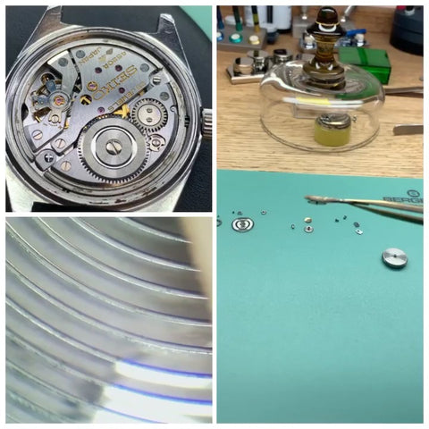 Seiko 4502a servicing inspection