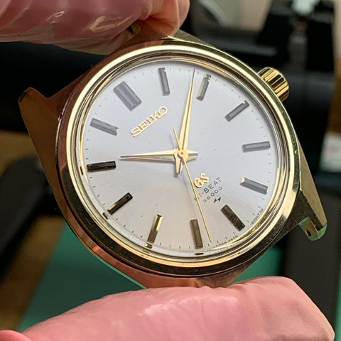 Servicing a vintage Seiko Grand Seiko (GS) Hi-Beat (36000) model 4520-8000