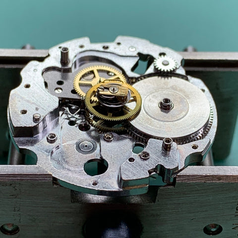 Servicing a Seiko 6138-3000 Jumbo Chronograph