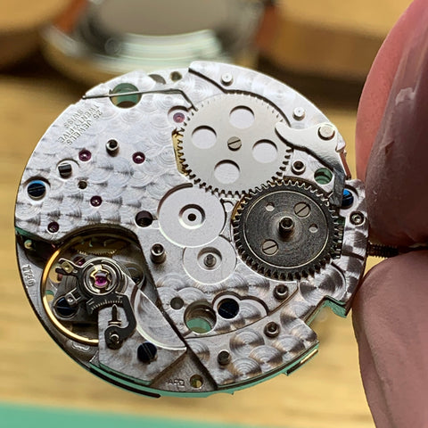 Servicing a Kobold Kobold USS Pittsburgh Chronograph