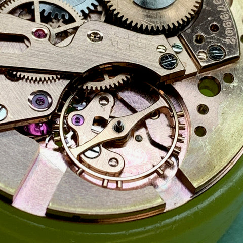 Whodunnit? Servicing a beautiful 1950's Omega Seamaster calibre 502 family watch