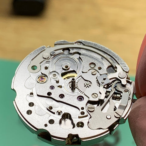 Servicing a Seiko 6139-6005 Pogue vintage chronograph for the original owner